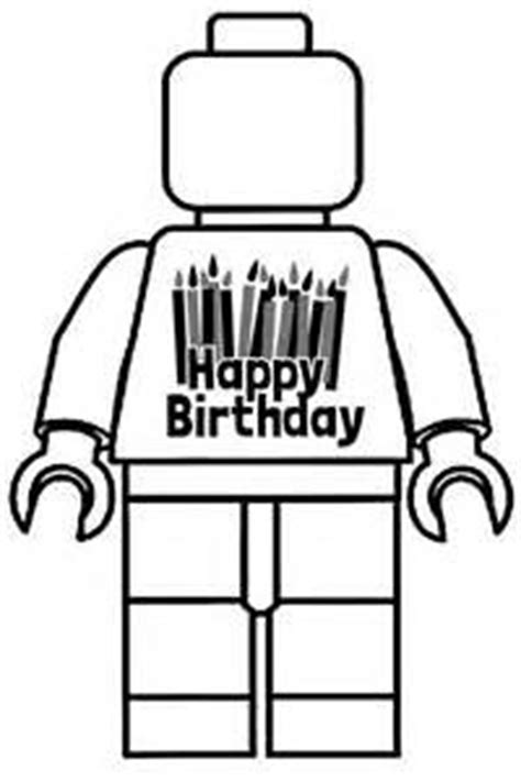 Happy Birthday Lego Coloring Page | image search coloring and lego on pinterest