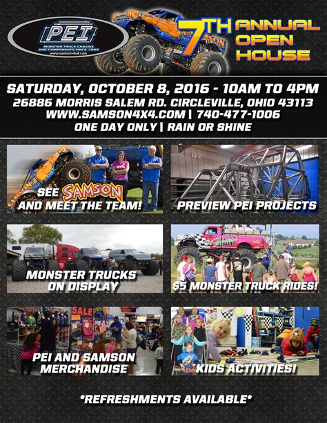 monster truck show schedule 100 monster truck show schedule home samson4x4 com