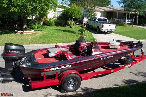cajun boat torquelist for sale cajun bass boat excellent