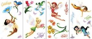 Disney Fairies Wall Stickers tinker bell theme room fairy bedroom theme decor amp ideas