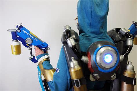 overwatch tracer costume graffiti skin designedbydcom