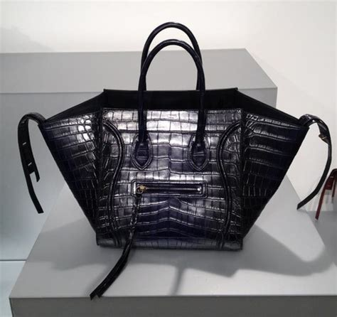 Bbb Black Crocodile Bag Intl black crocodile bag royal blue mini luggage
