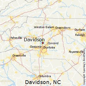 best places to live in davidson carolina