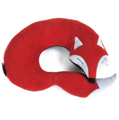Big Neck Pillow by The Fox Large Neck Pillow Pink Cat Shop