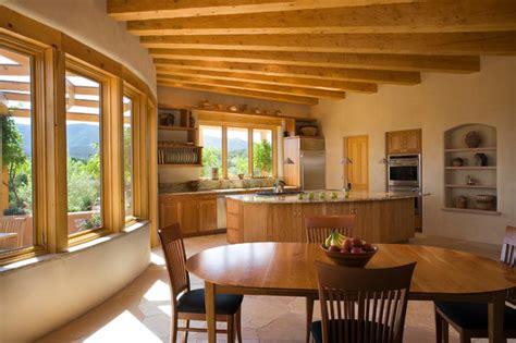 adobe home   mexico southwestern kitchen