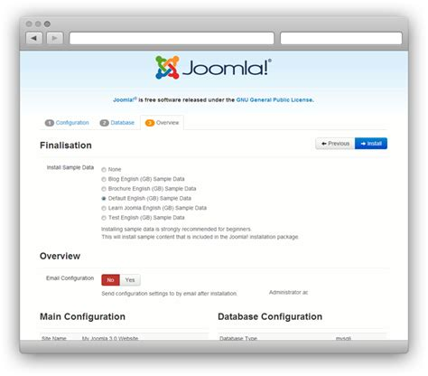 joomla template quickstart package template documentation