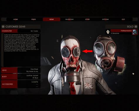 zed time foster mask killing floor 2 skin mods