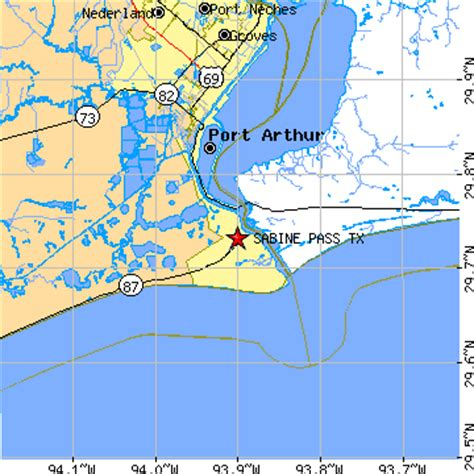 sabine county texas map sabine pass texas tx population data races housing economy