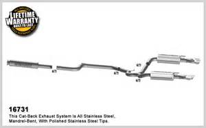 Pontiac Grand Prix Exhaust System Diagram 1997 2003 Pontiac Grand Prix Gtp Magnaflow Cat Back