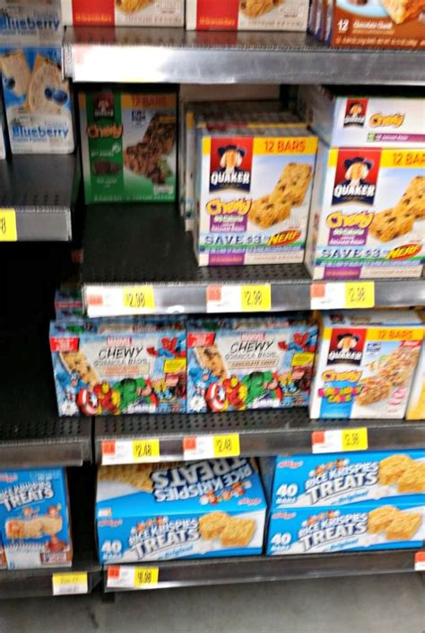 Shelf Of Granola Bars by New Sized Chewy Granola Bars Beautiful Touches