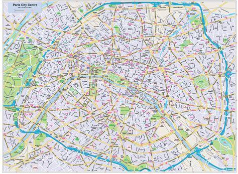 printable paris road map paris city map style 2 in illustrator cs or pdf format