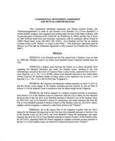 template settlement agreement 14 confidential settlement agreement templates free