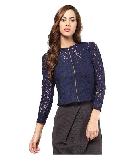 With Tops buy mayra navy net regular tops at best prices in india snapdeal