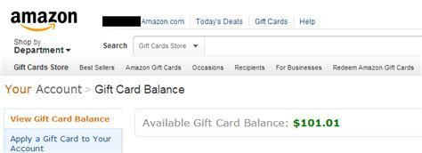 Amazon My Gift Card Balance - technology and numismatics how to get free itunes