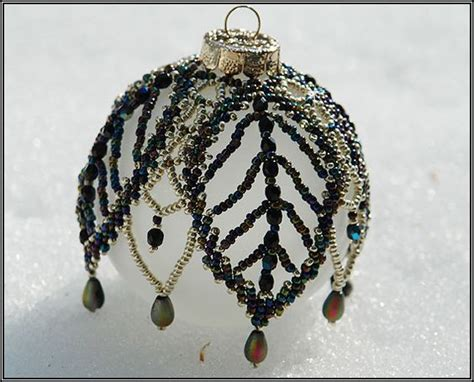 free beaded ornament cover patterns the world s catalog of ideas