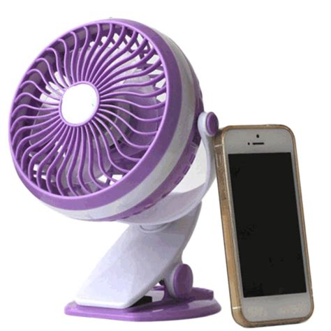 Usb Powered Desk Fan by New Practical 360 Degree Rotating Usb Powered Metal
