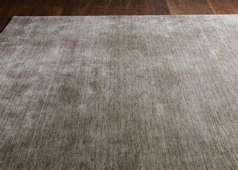 angora rug loomed wool rug taupe solid rugs