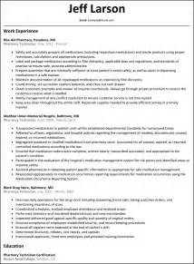 pharmacy technician resume resumesles resume cover