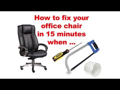 office chair cylinder base removal replacement office chair cylinder base removal replacement