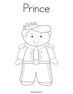 Prince Coloring Page Twisty Noodle Prince Coloring Pages