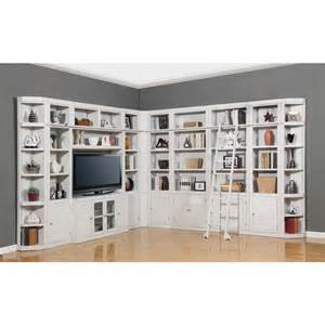 Library Wall Bookcase Parker House Boca 11pc Corner Library Bookcase Wall Unit