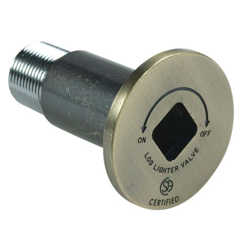 Fireplace Gas Key Home Depot by Blue 3 In Universal Gas Valve Key In Polished Brass