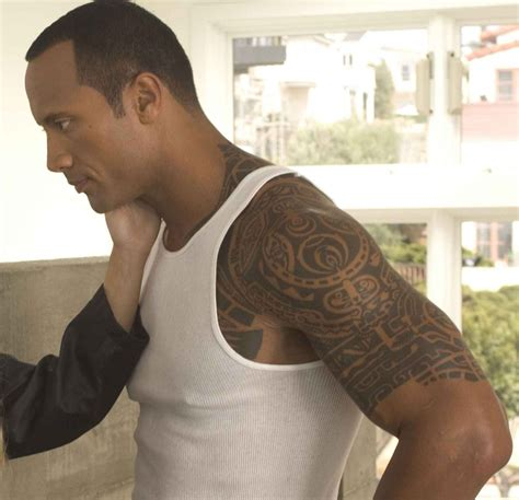 dwayne johnson tattoos superstar the rock tattoos dwayne johnson