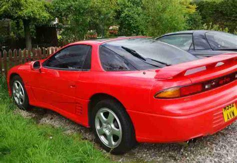 mitsubishi gto 1995 3 0ltr v6 non turbo red car for sale