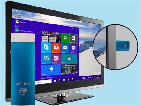 Minipc Windows 10 Stick Cd2bb archos pc stick mini pc mit windows 10 f 252 r 120 notebookcheck news