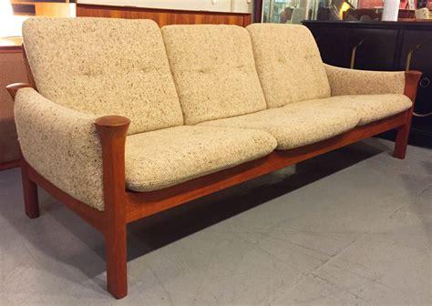 arne vodder sofa arne vodder for cado teak framed sofa sold past perfect