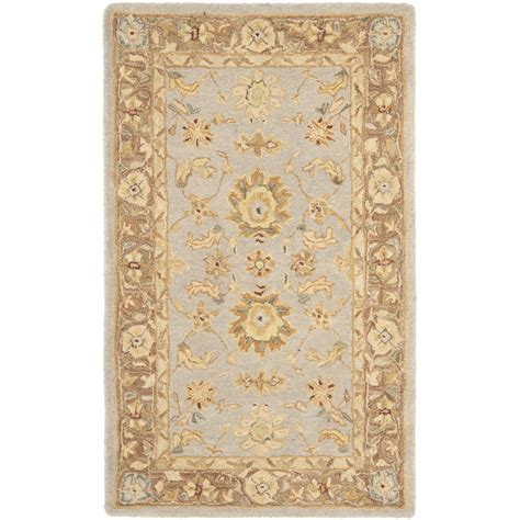 brown accent rug safavieh anatolia teal brown area rug reviews wayfair