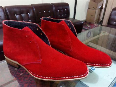 Handmade Chukka Boots - handmade mens color chukka boots suede leather