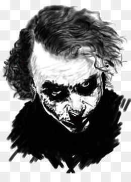 gambar kartun keren joker hitam putih koleksi rial