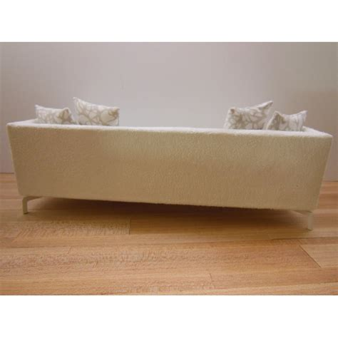 micro suede couch modern dollhouse furniture m112 pods lusso couch in