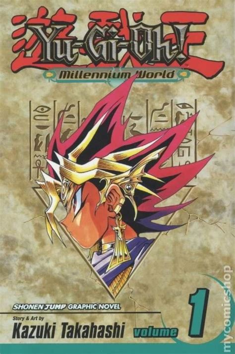 16 and with volume 1 books yu gi oh millennium world tpb 2005 2008 shonen jump