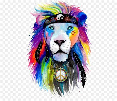 shirt lion art drawing watercolor lion png