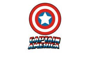 draw classic captain america logo coreldraw