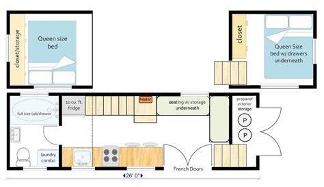 Example Layouts ? MitchCraft Tiny Homes