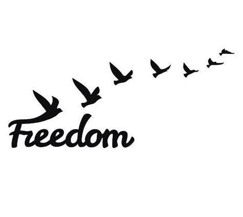 freedom tattoo design freedom birds design freedom bird tattoos