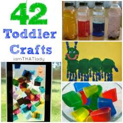 Here is are 42 creative toddler craft ideas for your kids click here