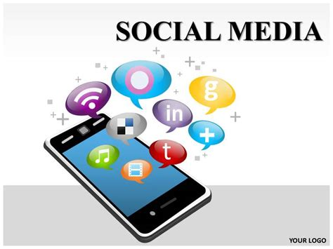 powerpoint templates on social media image collections the gallery for gt social media ppt background