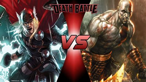 movie thor vs kratos thor vs kratos death battle fanon wiki fandom powered