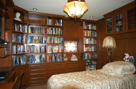 library bedroom bedroom library traditional bedroom new york by