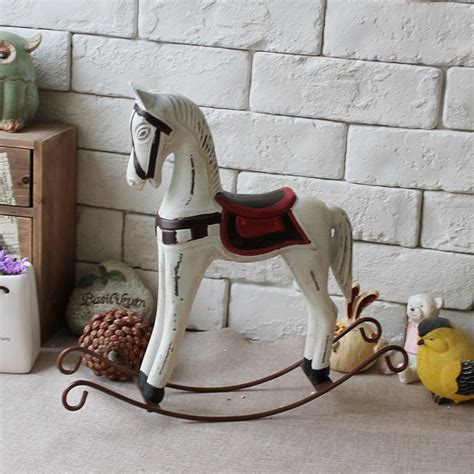 horse decoration for home free shipping american style vintage retro finishing wool