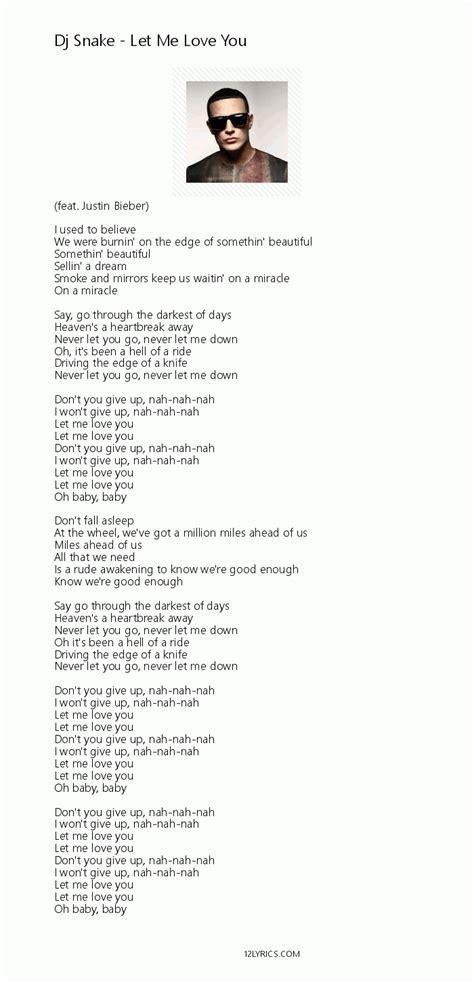 testo you and me dj snake let me you lyrics pdf 12lyrics