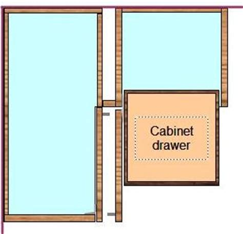 Cabinet Filler Against Wall - how to install frameless cabinets