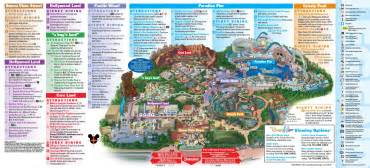 maps disneyland california disneyland resort map in california map of disneyland
