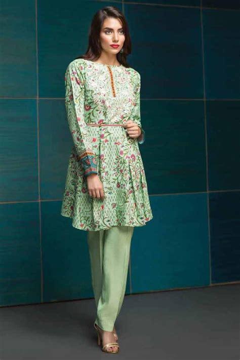 green frock  eid fashioneven
