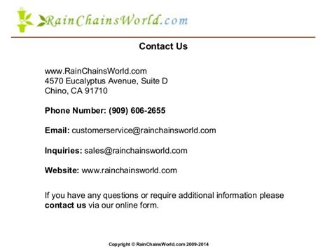 email questions welcome to rain chains world com copper rain chains
