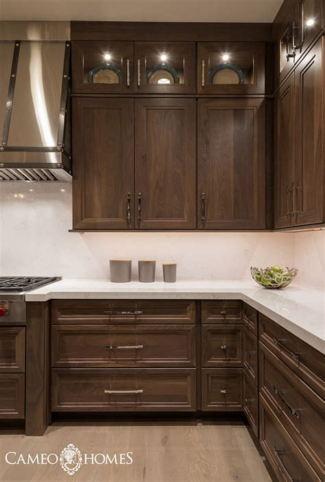 Walnut Color Kitchen Cabinets | interior design ideas home bunch interior design ideas